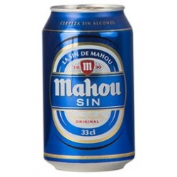 MAHOU SIN ALCOHOL PACK 33cl...